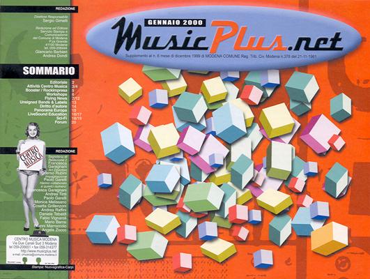 Cover gennaio 2000