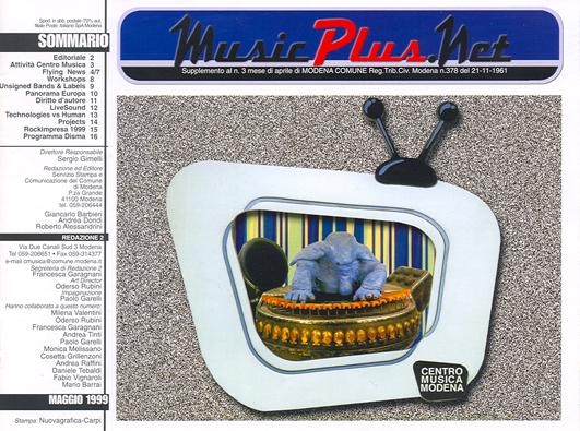 cover maggio 1999