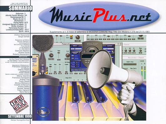 Cover settembre 1999
