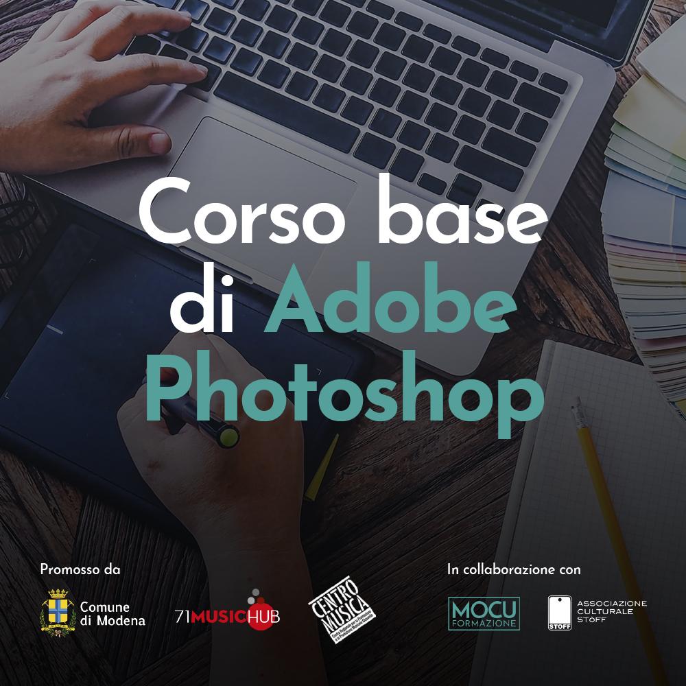Corso base di Adobe Photoshop