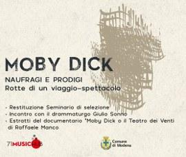 MOBY DICK - Naufragi e prodigi