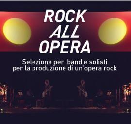 ROCK ALL OPERA IV EDIZIONE - Il progetto selezionato