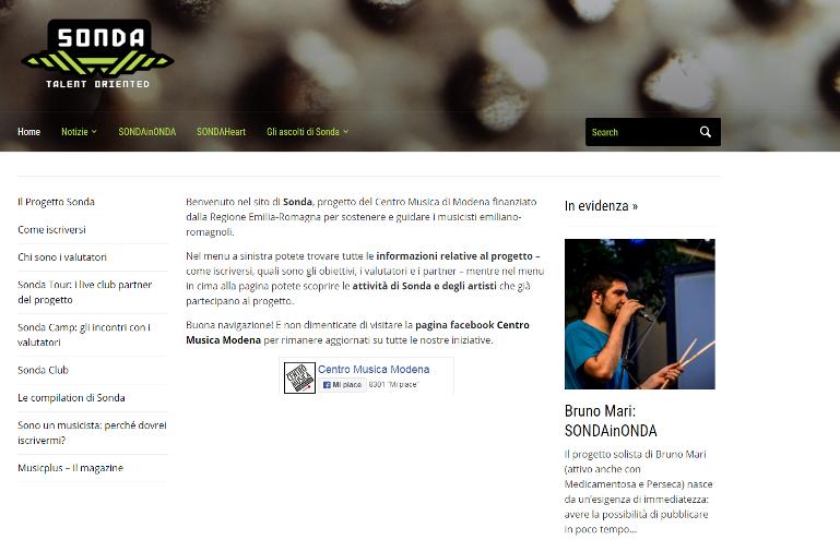 Sonda screenshot
