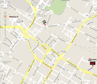 Mappa per raggiungere Mr.Muzik
